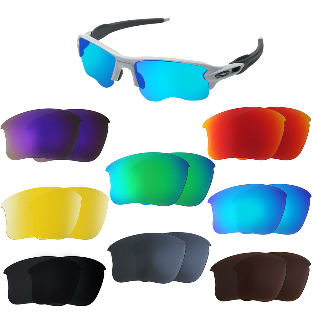 d5c73ffa17c Details about Replacement Lenses for-Oakley Flak Jacket XLJ Sunglasses  Frames Multi Colors