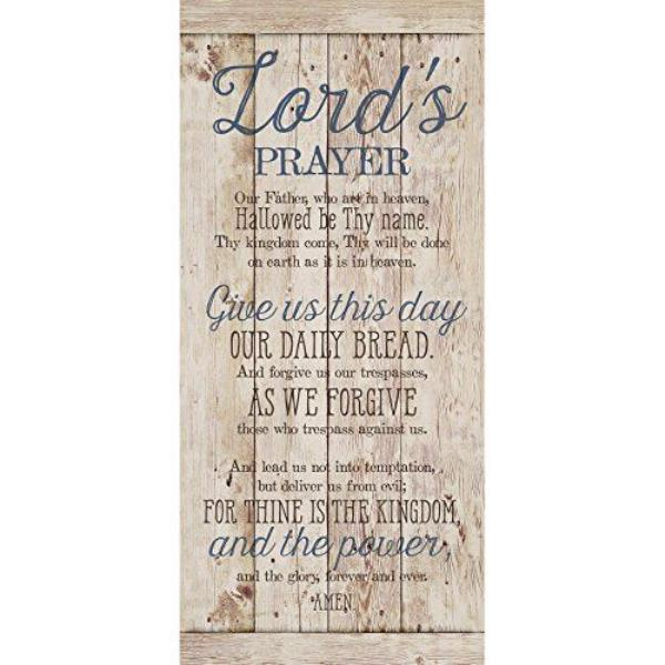 Details about NEW Dexsa Lord'S Prayer New Horizons Wood Plaque DX8809