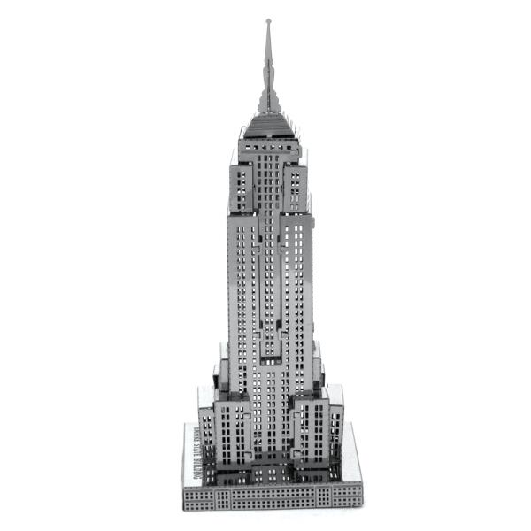 Details about Metal Earth 3D Laser Cut Steel Model Kit New York City Empire  State Building DIY