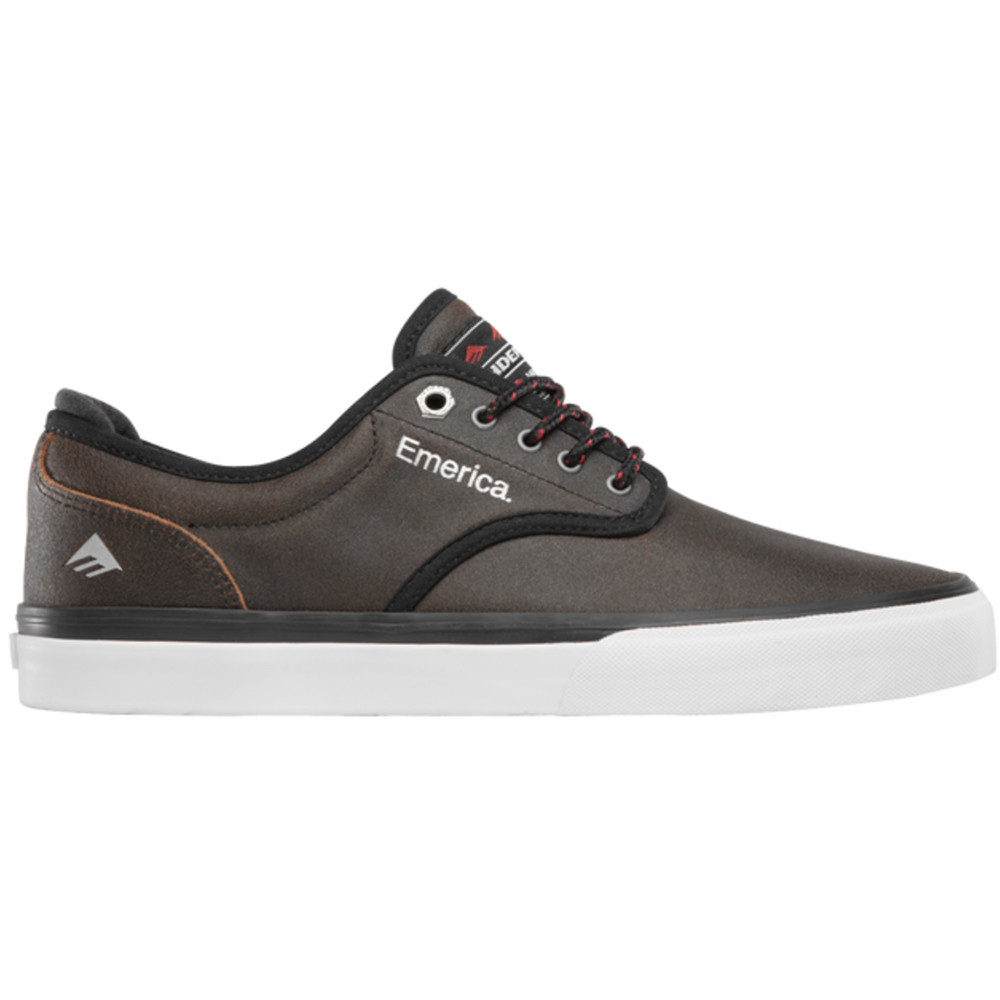 Emerica Shoes Wino G6 x Indy Trucks Collab Brown Black FREE POST New Skateboard Sneakers