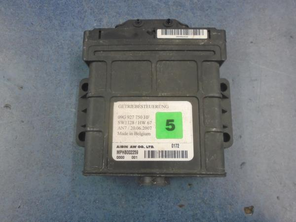 Details about VW Polo 9N3 2006-2009 1 4 Petrol Automatic gearbox ECU  09G927750HF