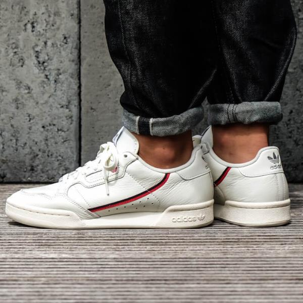 8dc052bbb1f2 Adidas Continental 80 Rascal Running Sneakers White Size 8 9 10 11 12 Mens  NMD