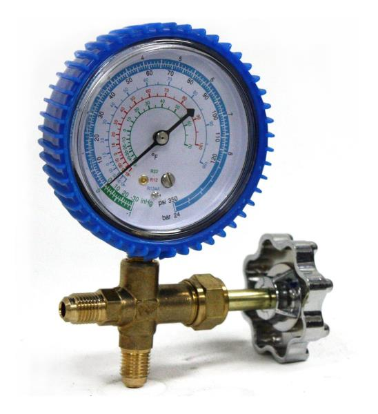 Details about R134a R12 R22 Single Manifold Gauge 4 Testing Charging Auto  Home Air Conditioner