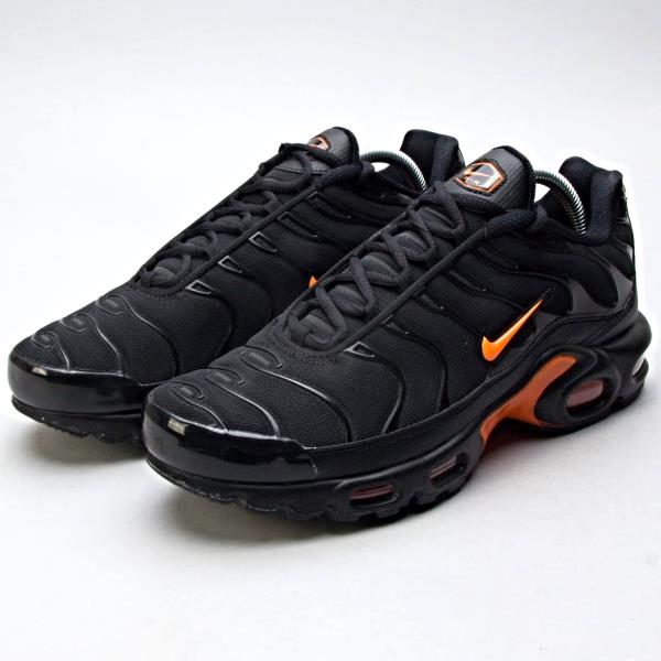 detailed pictures 964bd 1403b Details about Nike Air Max Plus Tn QS Black Orange Sz 7-12 no 90 Vapormax  Vlone AO9564-001