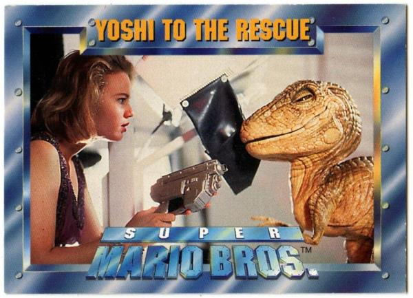 Yoshi To The Rescue 64 Super Mario Bros 1993 Sky Box Movie Trade