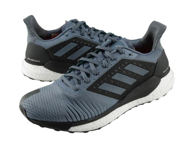 530f9491fd0b4 Adidas Men Solar Glide ST Training Shoes Running Gray Black Sneakers ...