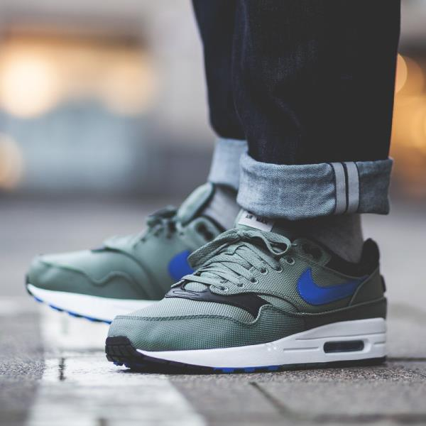 f04b814cf7e2 Nike Air Max 1 Premium Sneakers Clay Green Size 7 8 9 10 11 Mens Shoes New.  100% AUTHENTIC OR MONEY BACK GUARANTEED