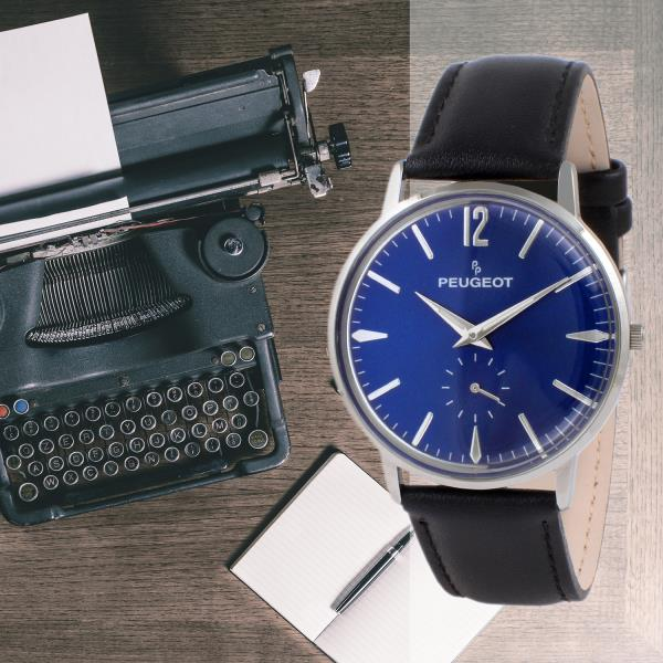With Remote Vintage Second About Sweep WatchAnalog Hand Business Details Men's Retro Peugeot eWrCBoQdx