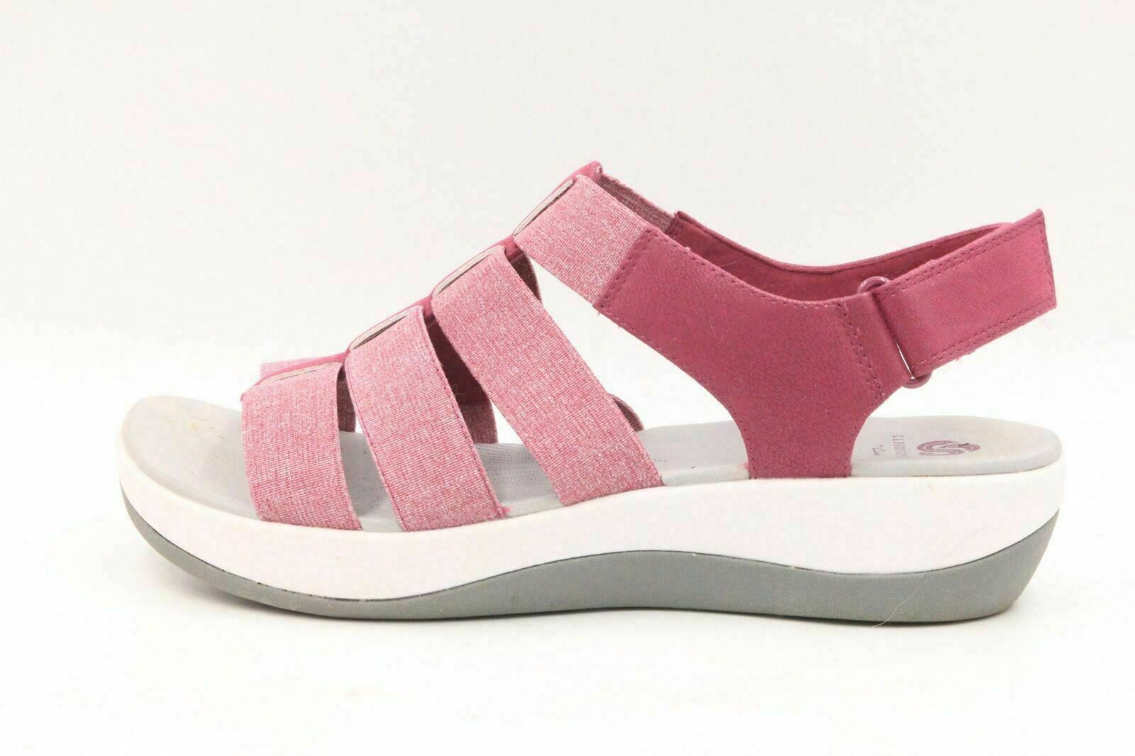 923933af914f CLOUDSTEPPERS BY CLARKS Arla Shaylie Women Sport Sandals Size 9M Fuchsia  Pink