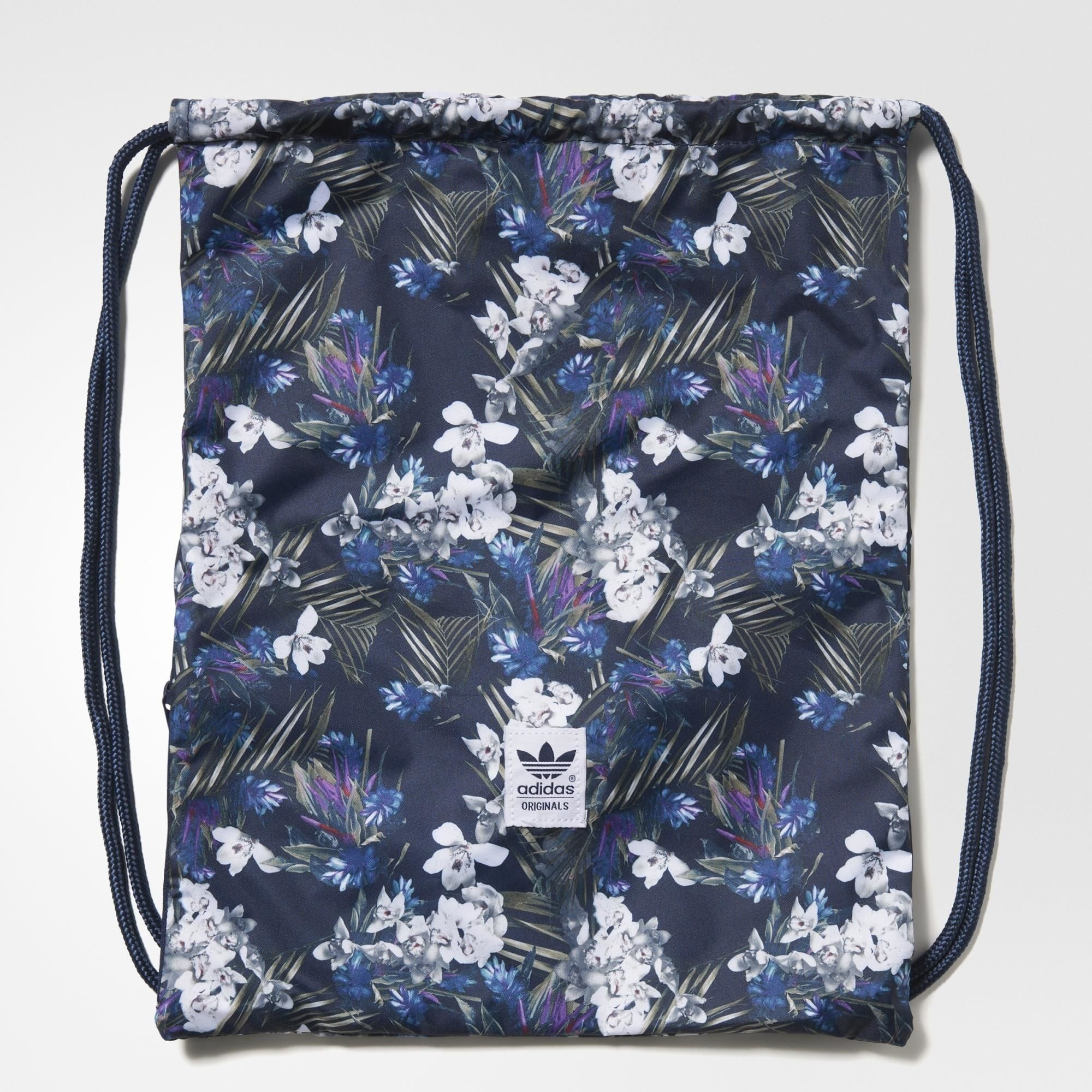 Details about adidas Originals Dark Floral Gymsack Fitness Shopping  Drawstring Bag   AB3871 9839e40df1