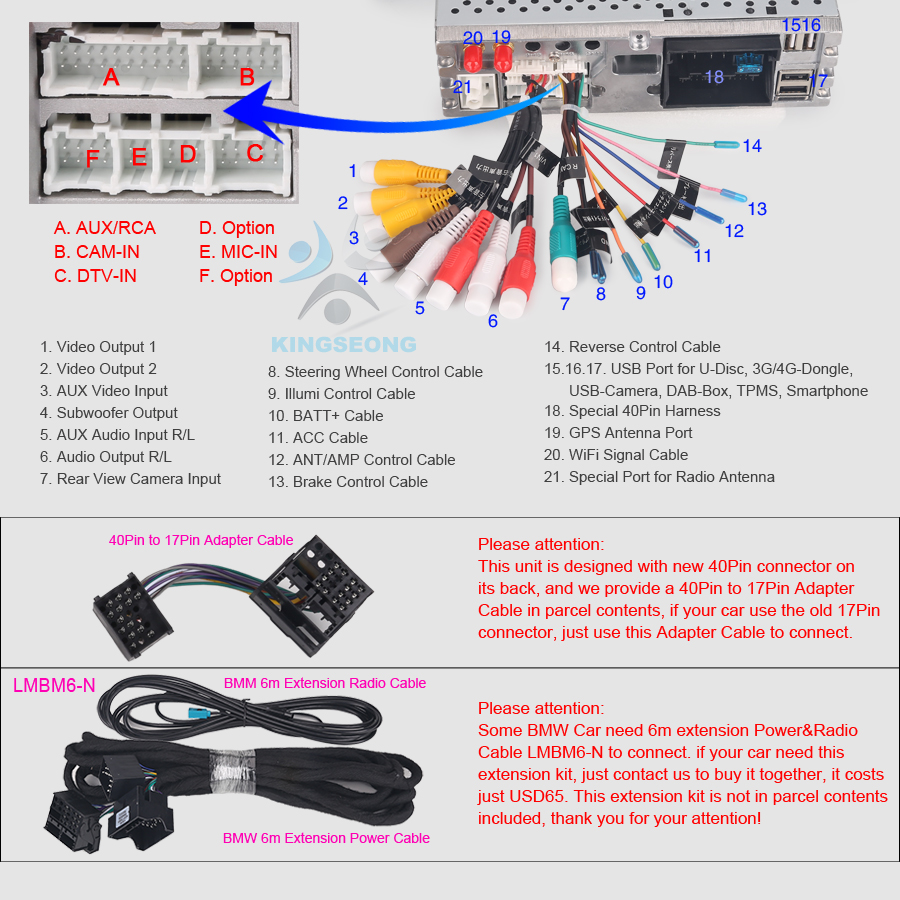 8 Core 9android 80 Dvd Head Unit Gps Dab Radio For Bmw E46 M3 318 Satellite Wiring Diagram Support Digital Tv Box Input Touch Control And Power Supply Rear View Camera Reverse Trigger Steering Wheel
