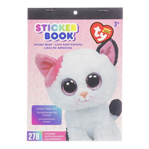 Darice visibility beanie Boo sticker book has the muffin cat theme. There  are 278 individual stickers in this book. The book of stickers measures 6  by 9 ... 32dad9e4cdd