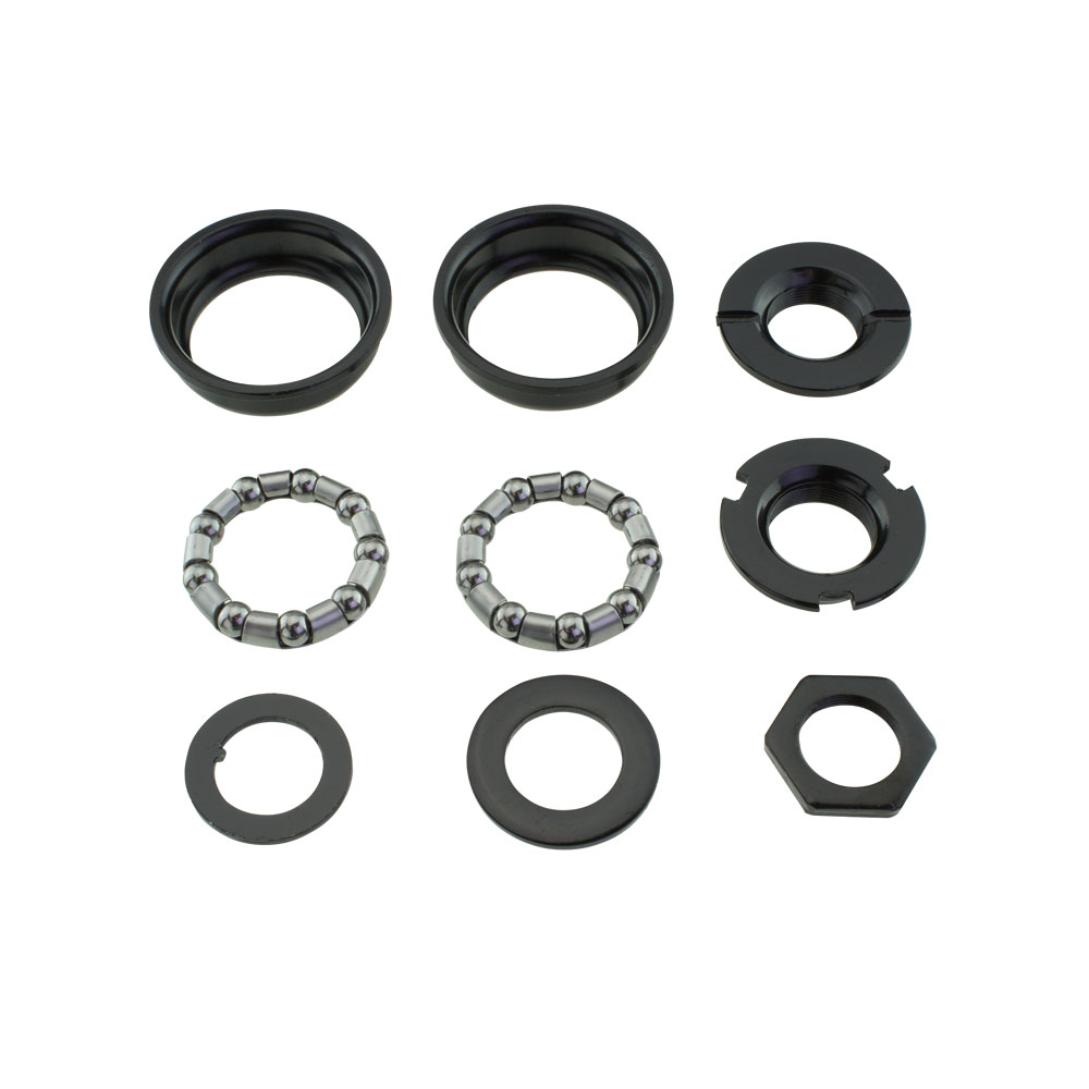 Bottom Bracket Set w//Bearings For 1//Piece Crank 5//16x7 BMX Cruiser Bike Bicycle