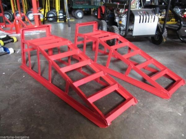 5669A Laser Low Rise Car Ramp 5 Tonne Pair