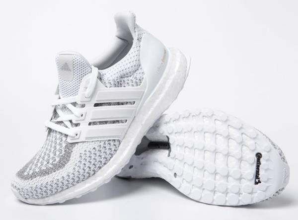 045088e420b Adidas Men ULTRA BOOST Shoes Running Training White Casual Sneakers ...