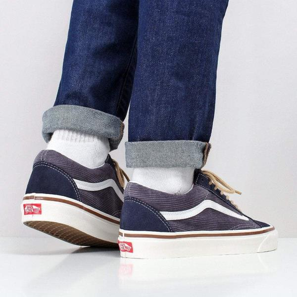 eec3a720bf We have teamed the Vans Old Skool 36 DX Shoes with a pair of Edwin ED-85  Slim Tapered Power Blue 11.5oz Denim Jeans