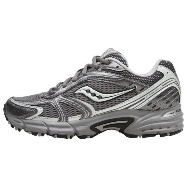 Details about SAUCONY Women's Grid Cohesion TR4 GreyMint Green Trail Running Shoe