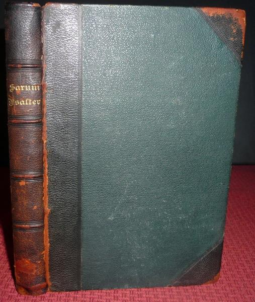 Details about Sarum Psalter  Gregorian Chant, Psalms of David  1894 1stEd   Plainsong  Palmer