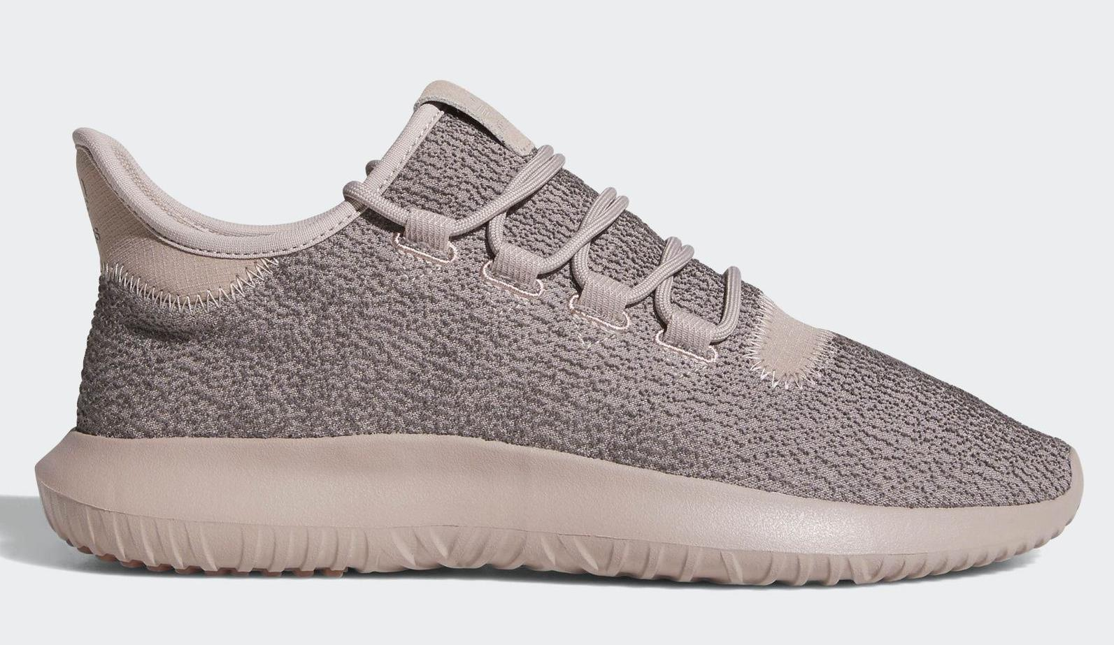 newest 4017a d3a7c Adidas Tubular Shadow Men s Casual Athletic Shoes - Grey   Raw Pink ...
