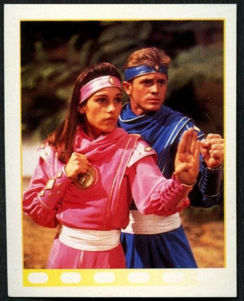 C1379A #146 Power Rangers 1995 Merlin Sticker