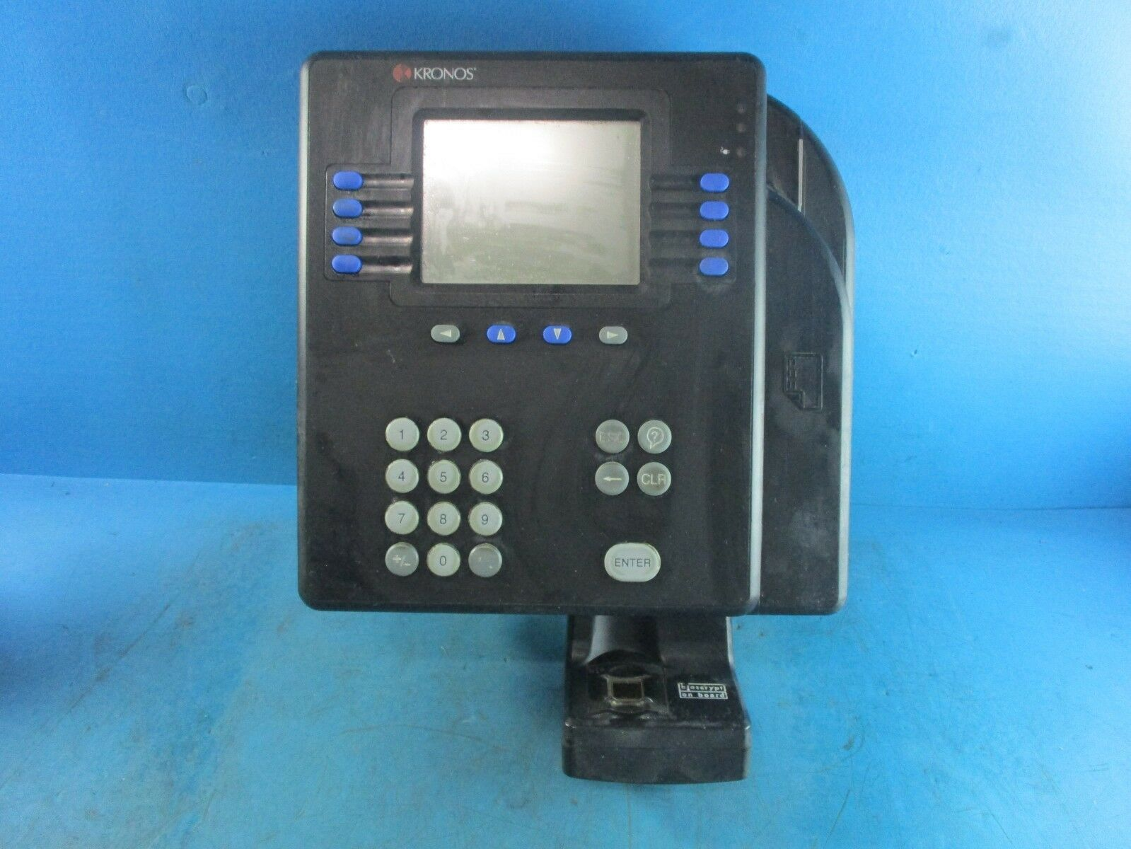 Kronos System 4500 Digital Time Clock Admin Access Card Manager M Card Only