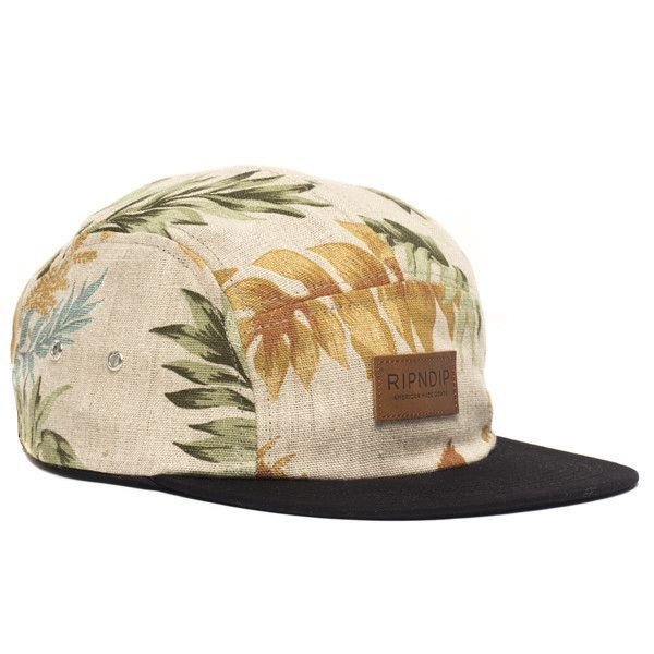 RIPnDIP Cap Golden Leaf 5 Panel Camper Rip N Dip Skateboard Hat