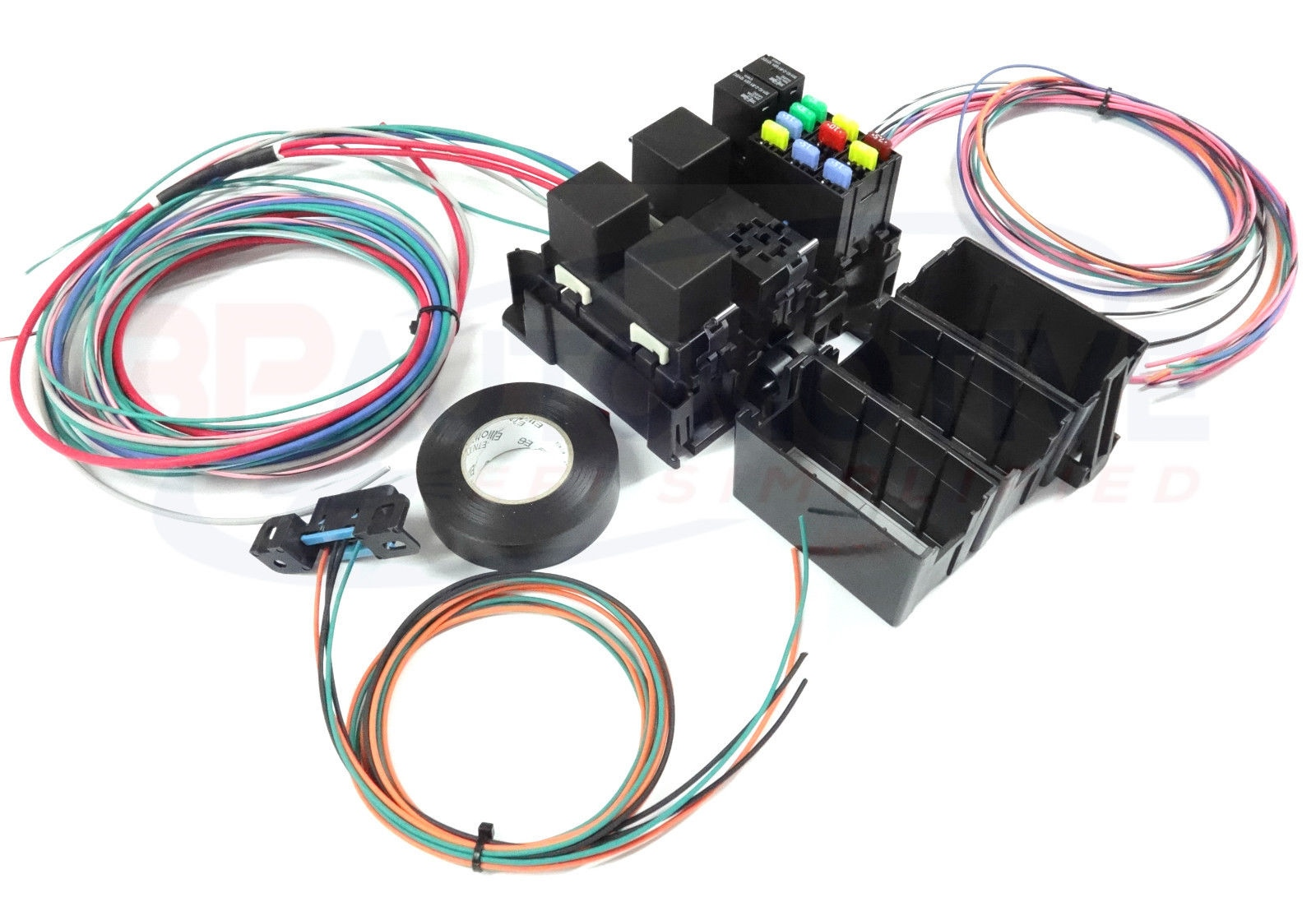 ls swap diy harness rework fuse block kit for ls. Black Bedroom Furniture Sets. Home Design Ideas