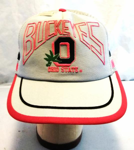 the best attitude 23e9f 6052d ... coupon code rare vintage gray ohio state buckeyes trucker hat cap  snapback with 231be 73880