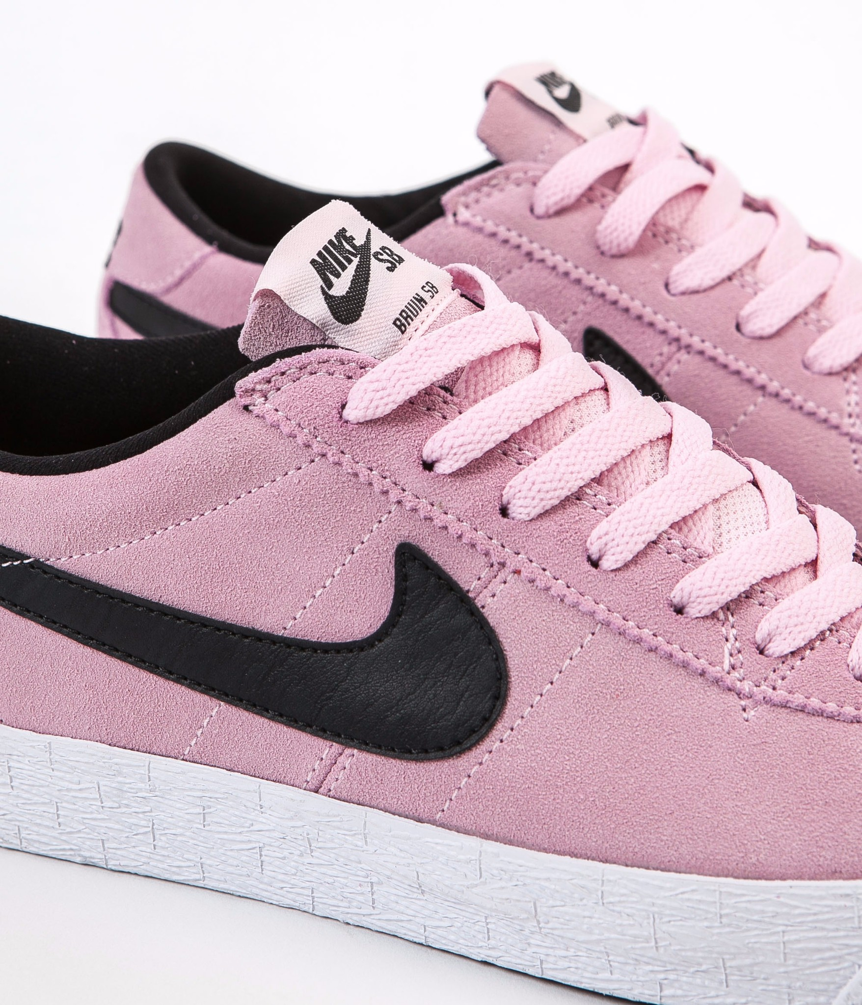 Nike SB Shoes Bruin Premium SE Prism Pink Black White USA SIZE Skateboard Sneakers FREE POST New