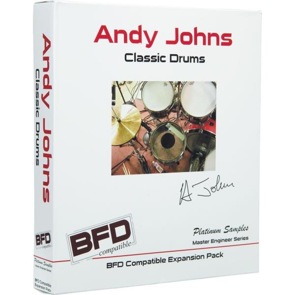 Details about New Platinum Samples Andy Johns Classic Drums Drum Sample  Library for BFD MAC PC