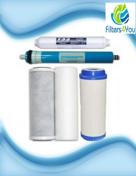 50 Gpd Complete Ro Water Filter Set Replacement For Apec Essence Roes 50 System 45399073013 Ebay