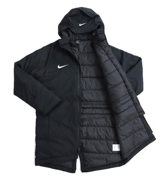 4b5cd4e8d Details about Nike Men Dry Academy 18 SDF Hood Jacket Black Winter Coat GYM  Padded 893798-010