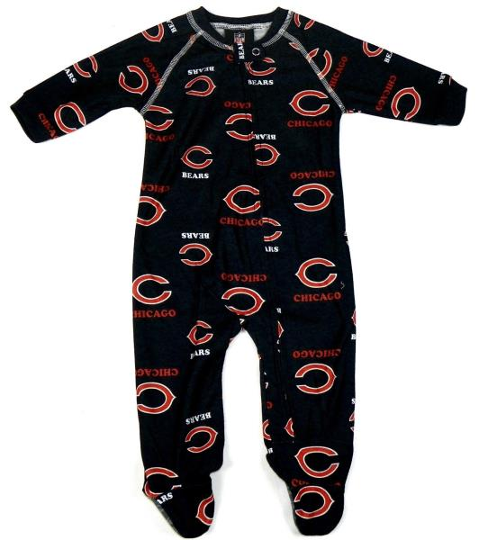 f42725f6a NFL Infant Boy s Sleeper Raglan Footed Coverall Full Zip Baby One ...