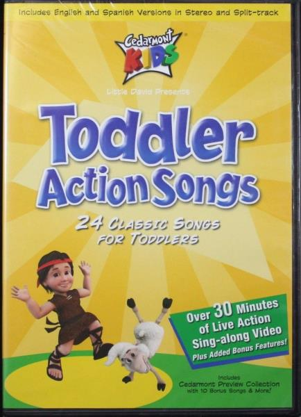 Cedarmont Kids Toddler Action Songs New Dvd 24 Classic