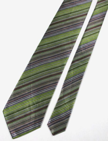 Missoni Stripe Multi Color Silk Necktie Tie  0359b911d