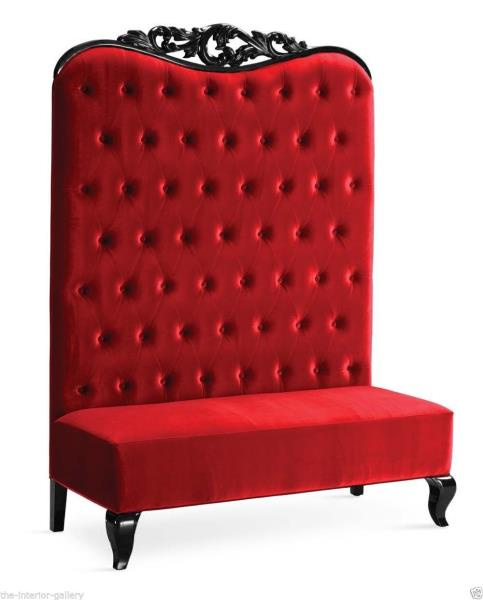 Astonishing Details About Chaise High Back Sofa Double High Back Chair Adonis Ii Red High Back Sofa Dailytribune Chair Design For Home Dailytribuneorg