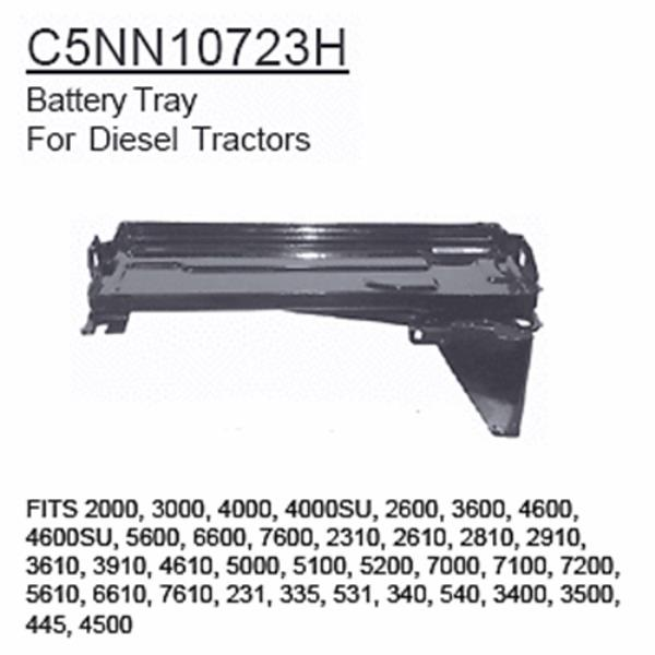 Details about C5NN10723H Ford Tractor Parts Battery Tray 2000, 3000, 4000,  4000SU, 2600, 3600,