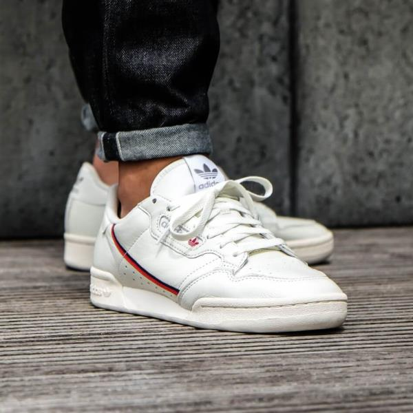 4e3875661f4ae0 Adidas Continental 80 Rascal Running Sneakers White Size 8 9 10 11 12 Mens  NMD