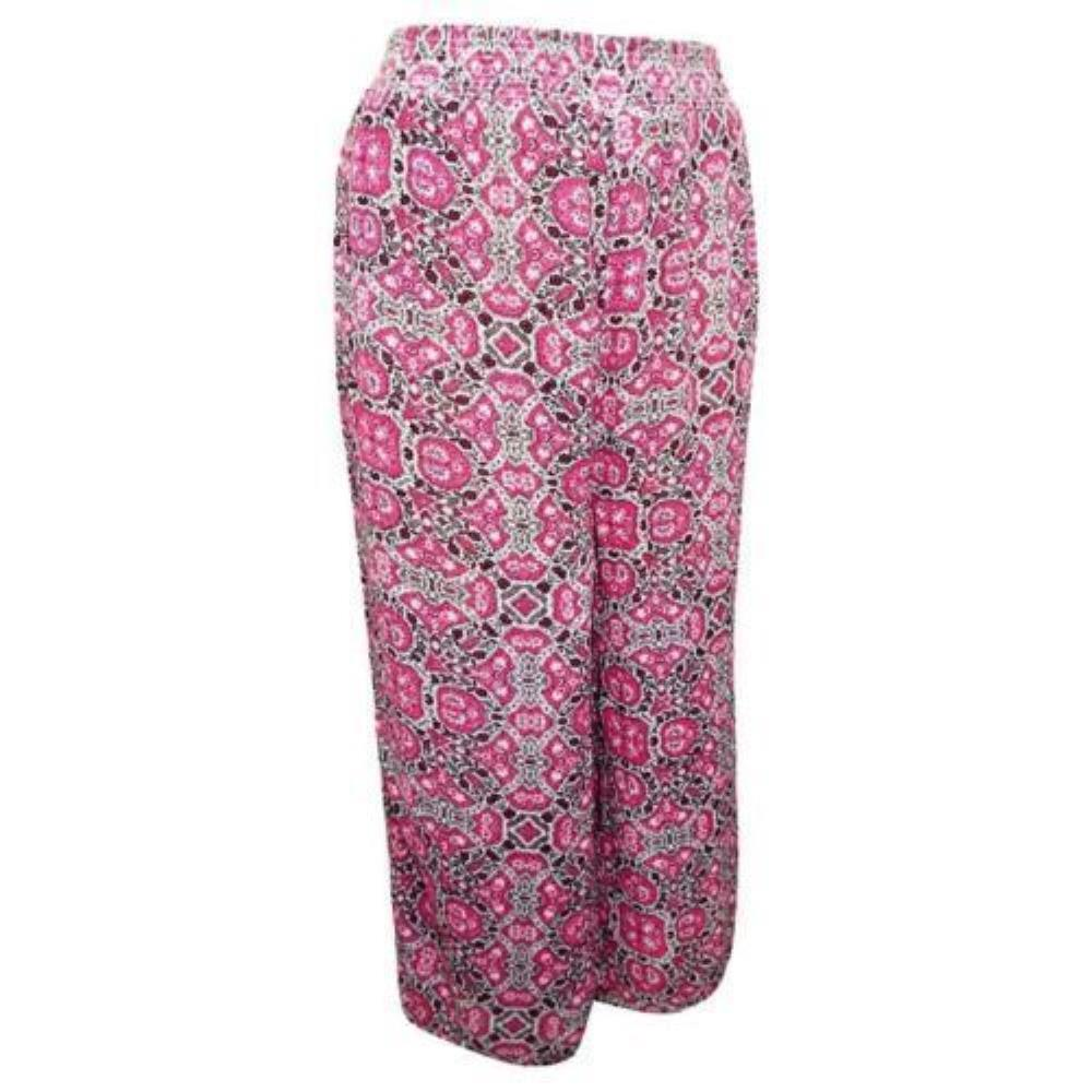 23a4dd21c27 Details about New Look Ladies Floral Plus Size Summer Trousers Wide Leg  Palazzo Pants
