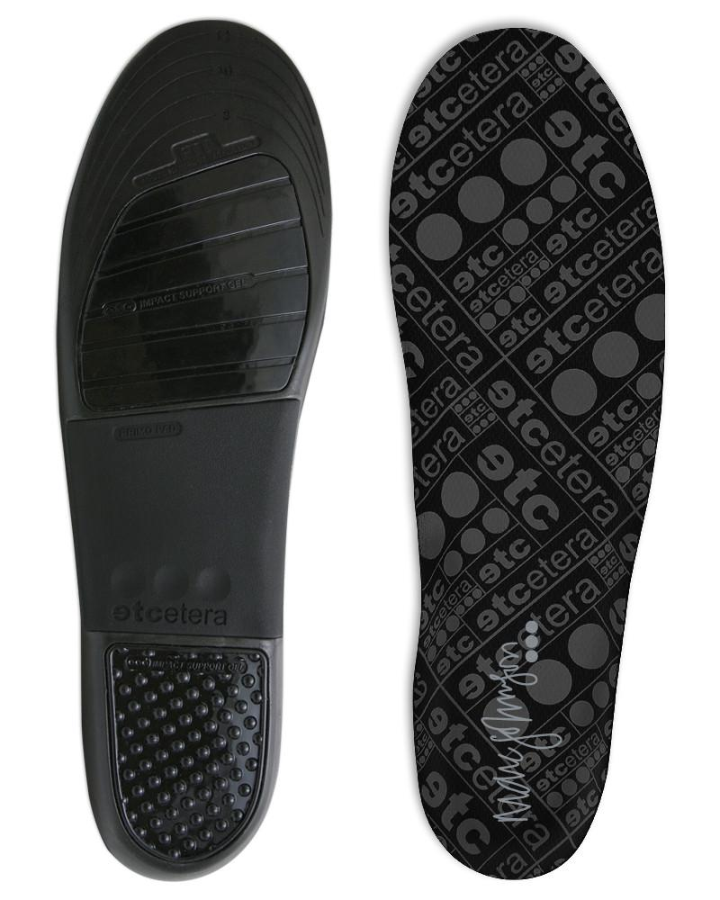 Etcetera Insoles Marc Johnson Lo Pro OSFM FREE POST New for Skateboard Bmx Shoes