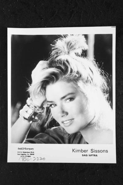 Signed Autograph And Headshot Photo Set Erotic Confessions Clear And Distinctive Kimber Sissons
