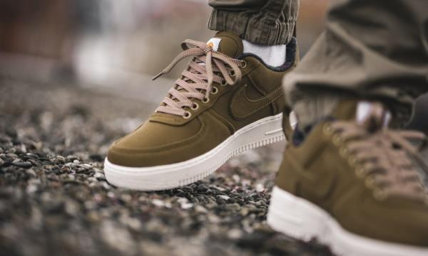 online retailer 8a182 dfd01 Nike Air Force 1 Low X Carhartt WIP Brown Size 7 8 9 10 11 12 Men ...