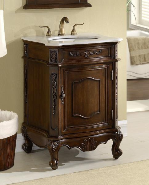 24 inch bathroom vanities and cabinets 24 debellis antique bathroom sink vanity cabinet w white 24751