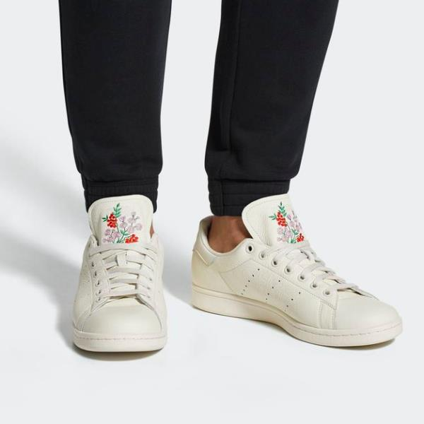 reputable site 5f8a2 628e8 ... Adidas Stan Smith Sneakers Chalk White Size 7-12 Mens Shoes NMD Boost  Y- ...