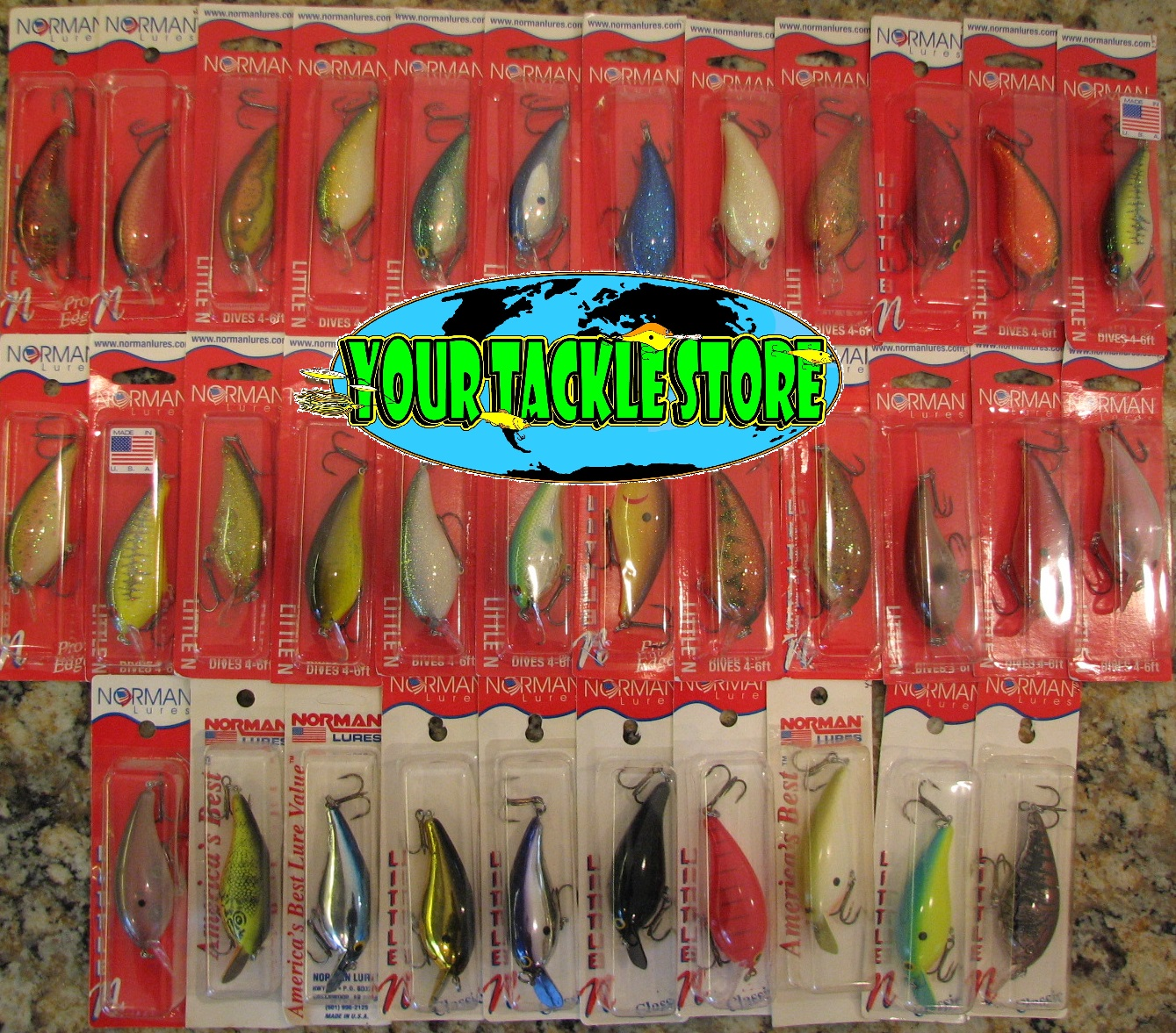 Bill Norman Lures LN GLN Gelcote Little N Discontinued You pick ...