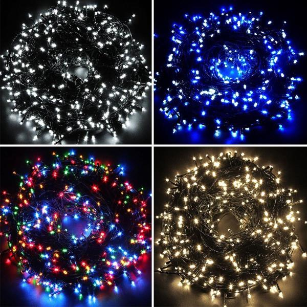 waterproof fairy lights 100 200 300400500 led outdoor christmas tree wedding