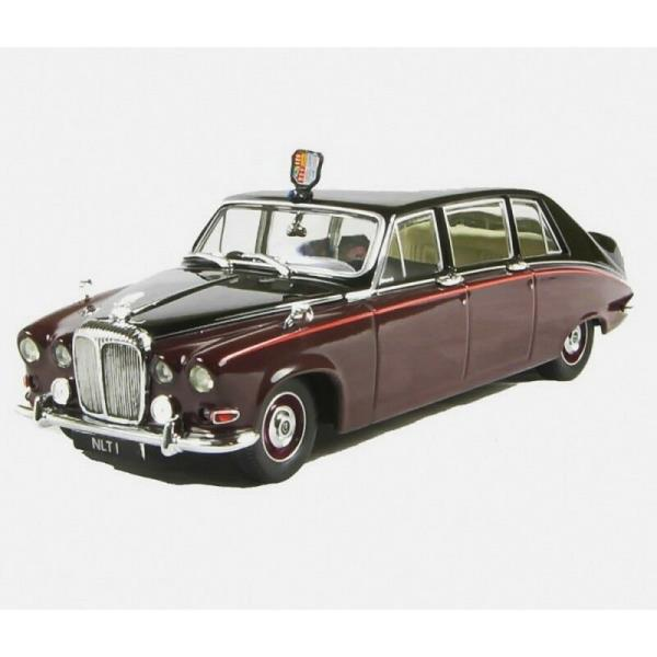 BNIB OO GAUGE OXFORD 1:76 76DS003 DAIMLER DS420 LIMO EMB BLACK CARLTON GREY