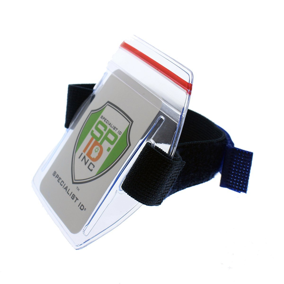 5 Pack Heavy Duty Water Resistant Armband Id Badge