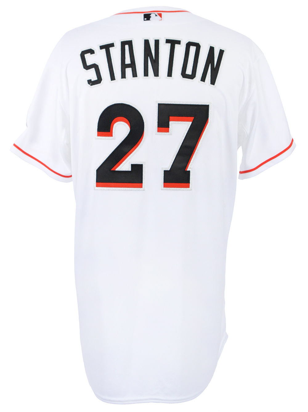 998f430e0 2015 Giancarlo Stanton Miami Marlins Game Used Home Jersey MEARS A10 COA  Yankees