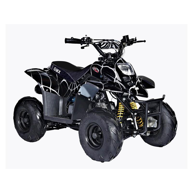 quad bike atv 70cc sports ripper spider black by gmx ebay